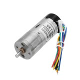 CHIHAI MOTOR DC12V 350rpm Encoder Motor DC Gear Motor with Cover