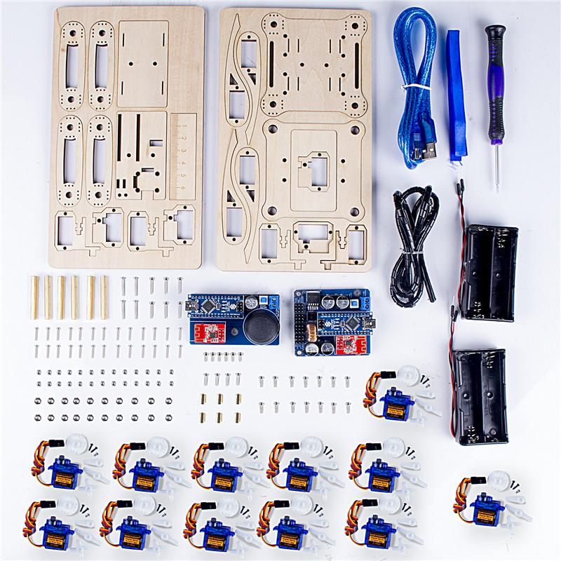 SunFounder SF-Crawling V2.0 Remote Control Crawling Quadruped Robot for Arduino