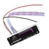 3Pcs M01BT69 12V Wireless Bluetooth MP3 WMA Decoder Board Audio Module USB TF Radio For Car