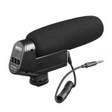 BOYA BY-VM600 Cardioid Directional Condenser Microphone for Canon Sony for Nikon Pentax DLSR Camera