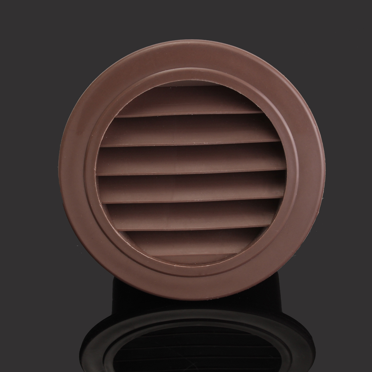 Round Air Vent ABS Louver Grille Cover PP Ventilation Grille Air Grille 100mm