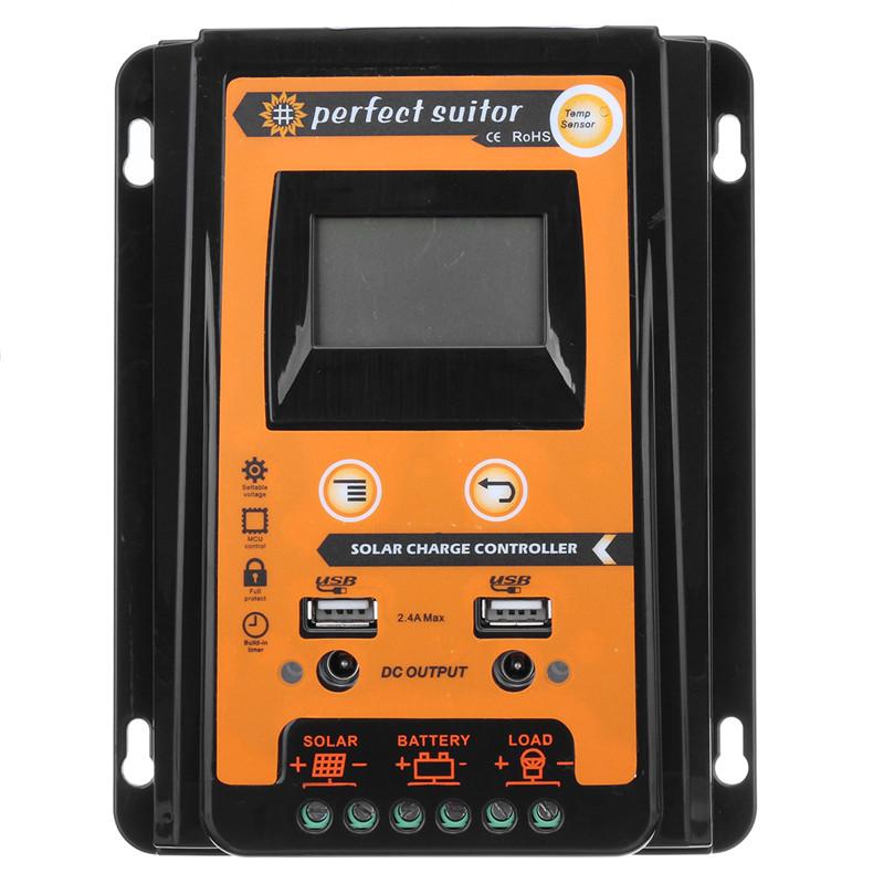 Batterie Solarregler Bedienfeld Flexibel Kit 10A 20A 30A Laden 1PCS PWM