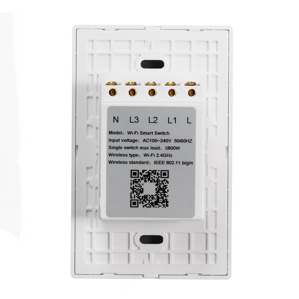 110-240V Wireless Remote Control Smart Wall Light Switch Works with ...