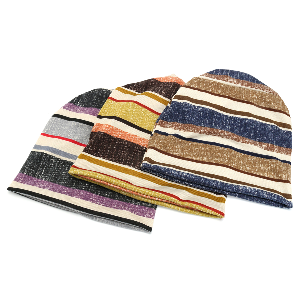 a256ebce Unisex Autumn Winter Warm Polyester Striped Hat Multi Functional Outdoor  Cycling Turban Hat Scarf. c203344f-a9c1-42a6-bf75-2e8aa2083831.