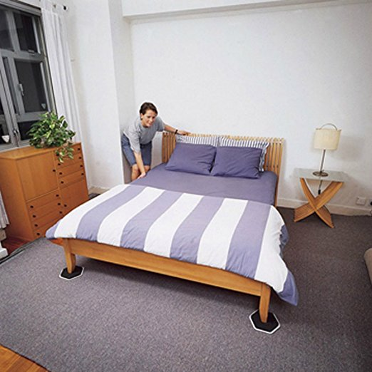 4pcs Furniture Moving Sliders Mover Pads Moving Furniture