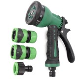 7 Pattern Multifuntion Hose Nozzle Sprayer Water Hose Nozzle Wash Water Gun Watering Cleaning Tool