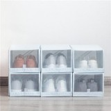 Original Xiaomi Mi Home 2PCS Shoe Storage Box Save Space Tidy Foldable Shoe Organiser Box