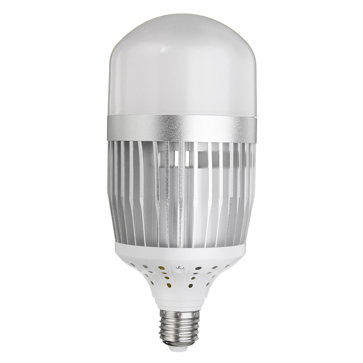E27 50W SMD3030 30LEDs 100LM/W Warm White Pure White High Bay Light Bulb Factory Lamp AC85-265V