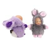 10CM Cute Rabbit Ball Pendant Plush Doll Key Ring Bag/Car Pendant Accessories Toy