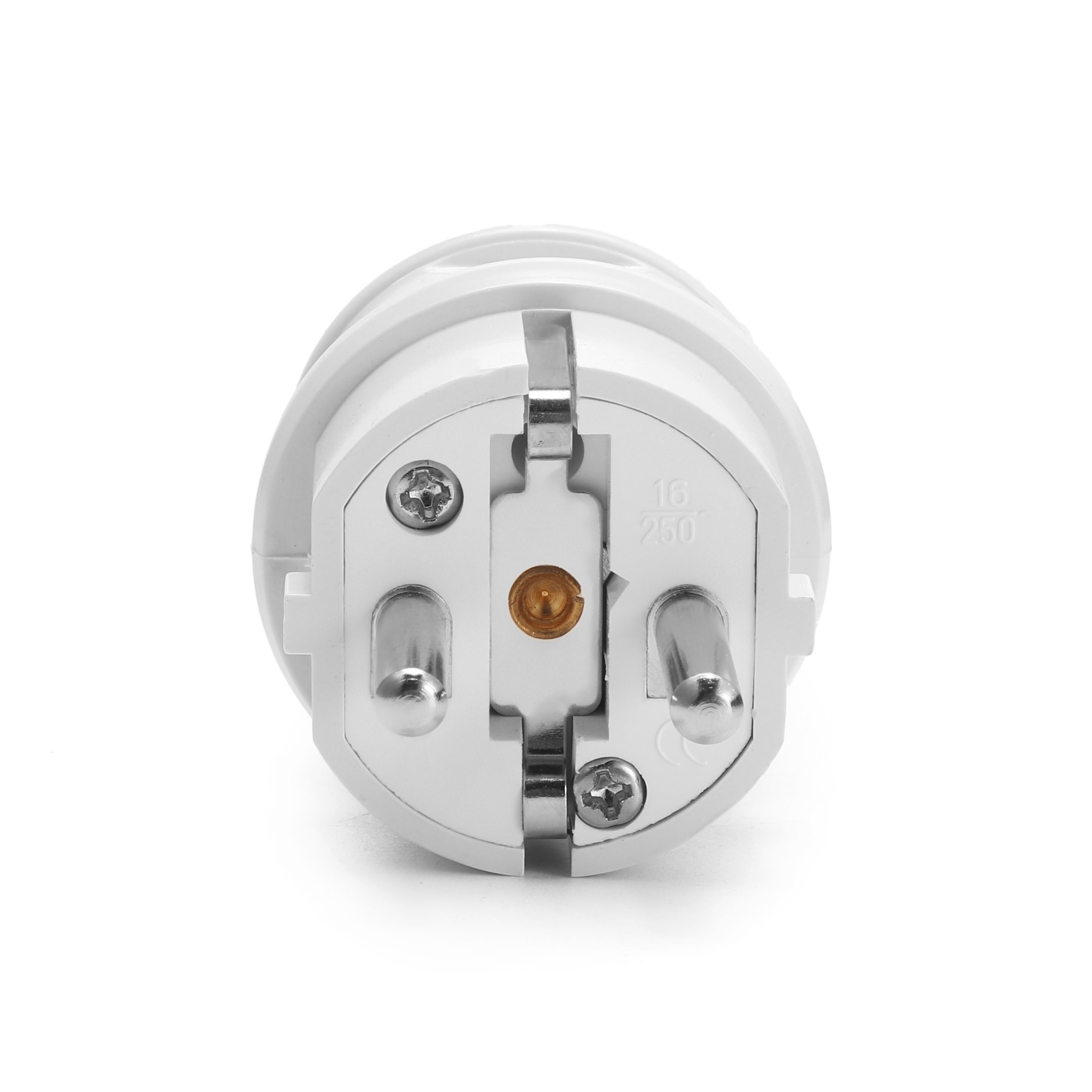 Loskii HA-18 EU Wire Plug Residential Round Pins Plug 16-Amp 250 ...