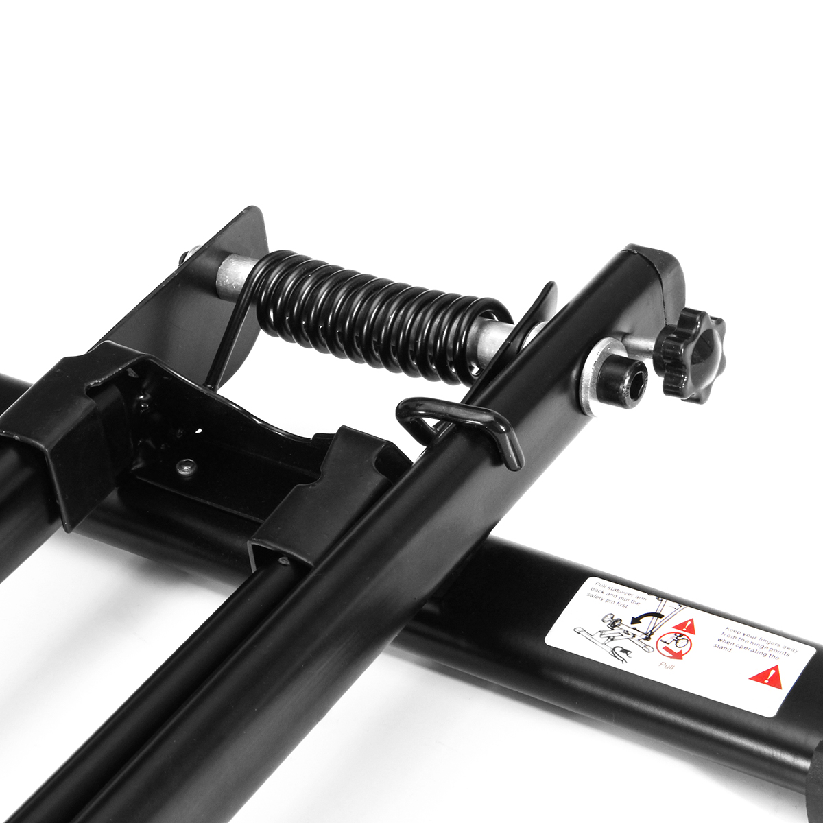 BIKIGHT L Type Folding Floor Bike Stand Adjustable Parking Rack Bicycle Storage