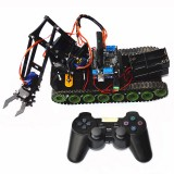 Remote Control Robot Tank Toys RC Robot Chassis Kit With Servo Arduino PS2 Mearm