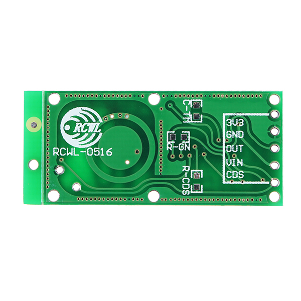 RCWL-0516 RCWL 0516 Microwave Radar Sensor Human Sensor Body Sensor Module  Induction Switch Module Output 3 3V