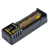 BASEN BO1 3.7v Colorful Li-ion Battery Charger for 18650 22650 20700 21700 Rechargeable Battery