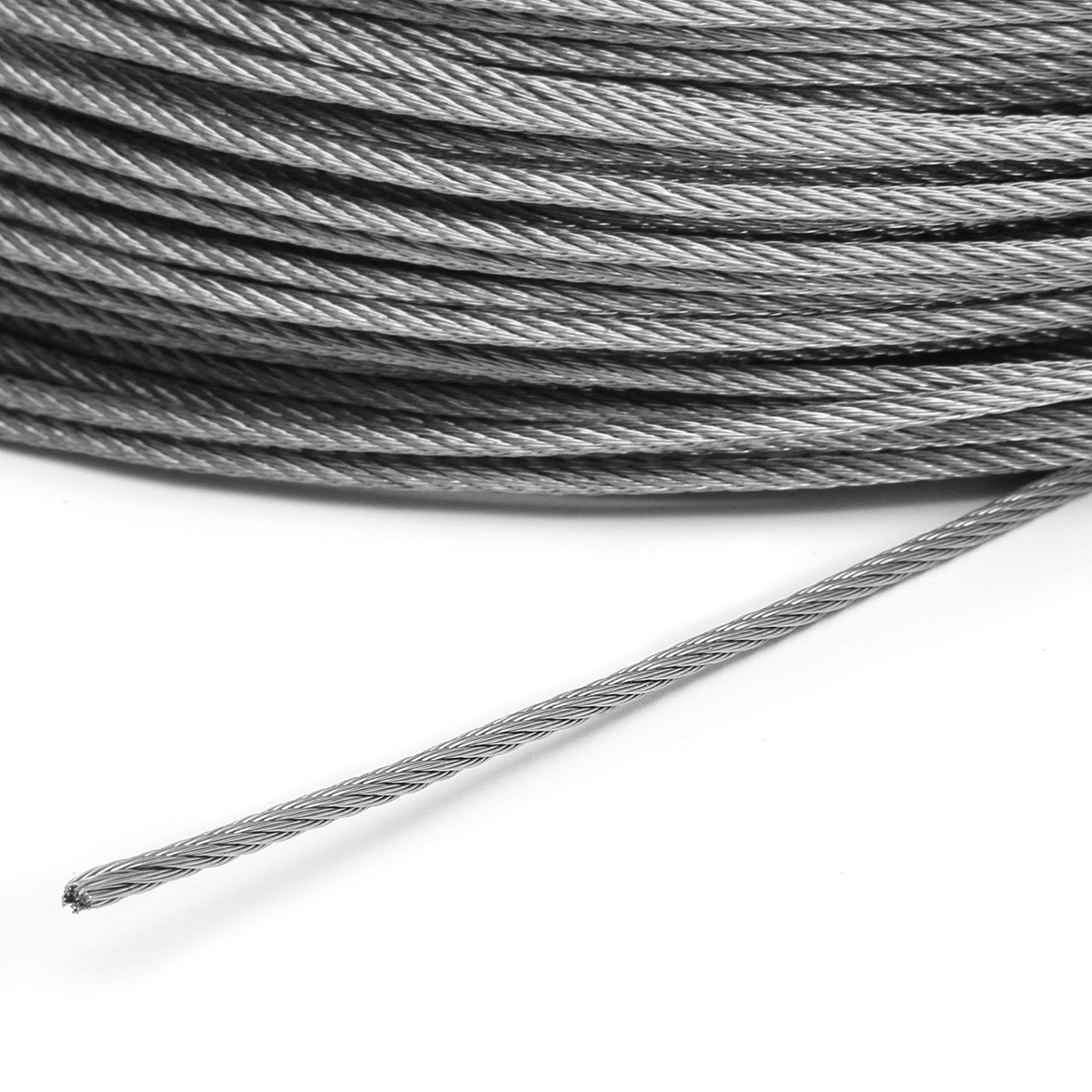 2mm Stainless Steel Wire Rope Tensile Diameter Structure Cable ...