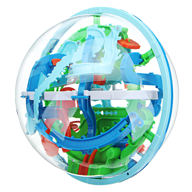 2019 Latest Design 3d Magic Maze Ball 100 Levels Intellect Ball Puzzle Game Rolling Ball Brain Teaser Children Learning Educational Toys Orbit Game Quality First Toys & Hobbies Puzzles & Games
