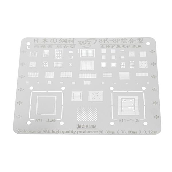 Japan BGA Repair Stencil for iPhone 8 7 6 Motherboard IC Chip Ball Soldering Net