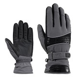 RockBros Ski Gloves Waterproof Warm Snowboarding Snowmobile Gloves Sport Outdoor Cycling Gloves
