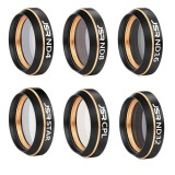 6 in 1 HD Drone Star Effect + ND4 + ND8 + ND16 + ND32 + CPL Lens Filter Kits for DJI MAVIC Air