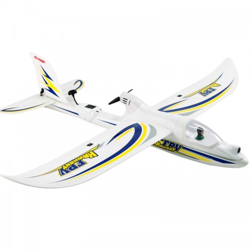 Dynam DY8978PNP Hawksky FPV V2 1370mm Glider Aircraft Plane Model 5.8GHz ISM FPV Airplane, 200mW Output Power, PNP Version