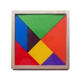 Baby Toy Fine Wooden Jigsaw Puzzle Large Size Tangram