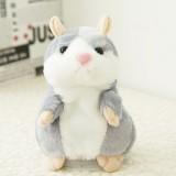 3 PCS Educational Toys Cartoon Hamster Cute Become Sound Recording Voles Children Birthday Gift, Random Color