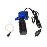 ZY-M2 4W 400L/H Multi-function Submersible Aquarium Water Pump Circulation Pump Fish Tank Internal Air Filter