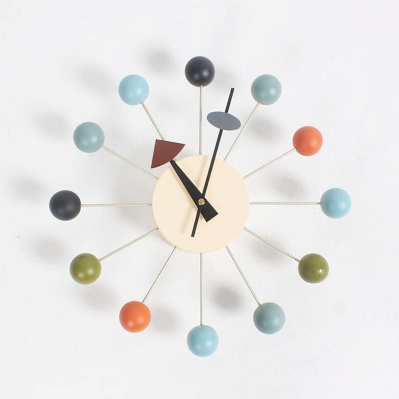 Stylish Background Minimalis Circular Colorful Balls Candy Wall ...