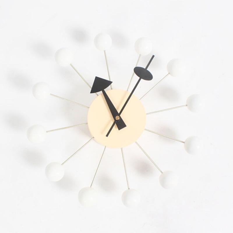 Stylish Background Minimalis Circular Balls Candy Wall Clock ...