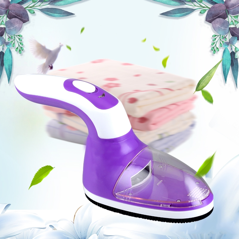 USB Charged And Battery Power Supplied Handle Rotatable Clothes Link Remover Machine (Purple)