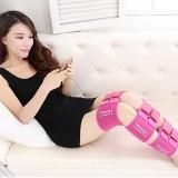 3 PCS/Set Leg Posture Corrector O/X-type Bowlegs Orthotic Bandage Straightening Belt Band, Size: M (Pink)