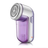 AC 100-240V Rechargeable Remove Fluff Fabric Shaver Lint Remover (Purple)