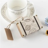 100 PCS Originality Wedding Mini Suitcase Sugar Box