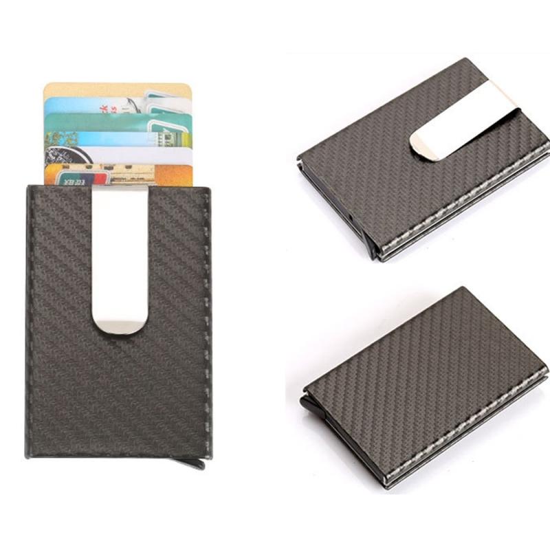 credit card holder money clip wallet grey hc6180h_1jpg hc6180hjpg - Money Clip Credit Card Holder