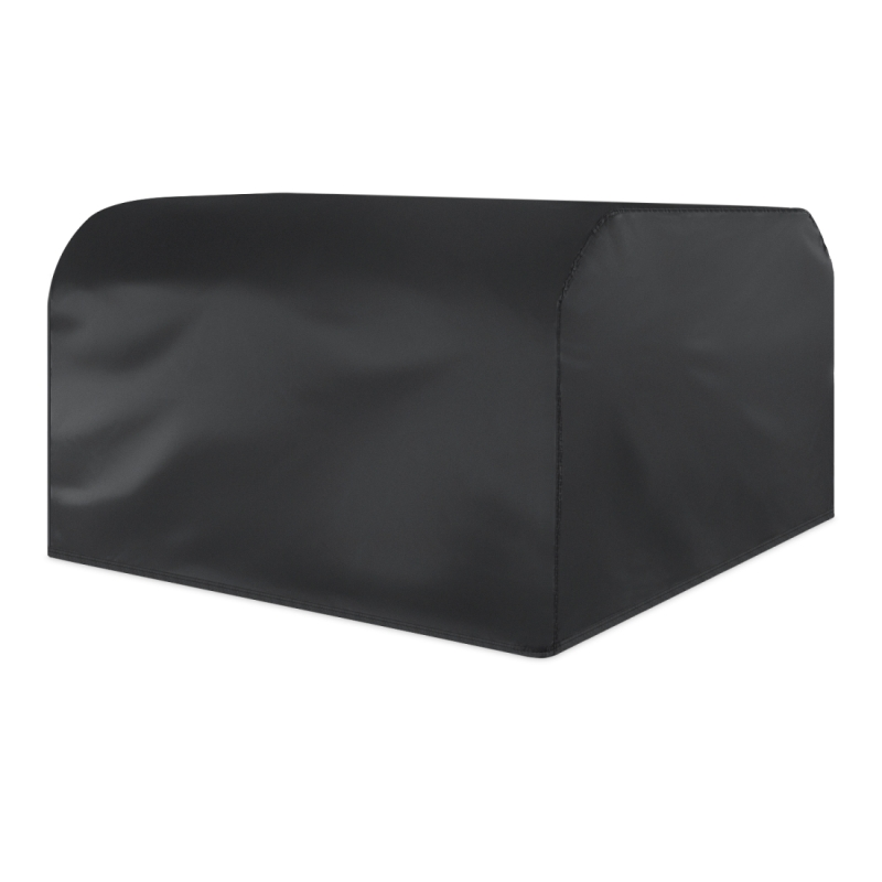 Anti-UV Waterproof Dust-proof 210D Oxford Cloth Folding Table Chairs Protective Cover Outdoor Furniture Set Cover (Black)