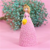 Pretty Skirt Girl Style Resin Crafts Ornaments Room Decoration (Pink)