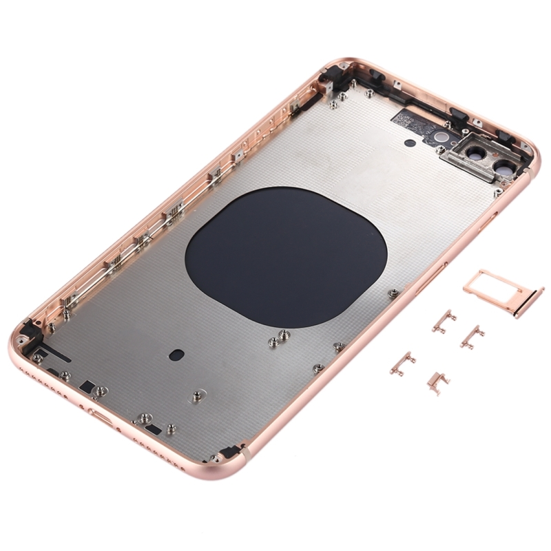 the latest e8679 8706c Back Housing Cover for iPhone 8 Plus (Rose Gold)