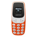 GTStar BM10 Mini Mobile Phone, Hands Free Bluetooth Dialer Headphone, MP3 Music, Dual SIM, Network: 2G (Orange)