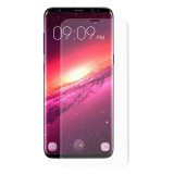 ENKAY Hat-Prince for Galaxy S9 0.26mm 9H Surface Hardness 3D Curved Full Screen Bent Tempered Glass Color Screen (Transparent)