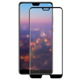ENKAY Hat-Prince for Huawei P20 0.26mm 9H Surface Hardness 3D Curved Full Screen Bent Tempered Glass Color Screen Protector (Black)