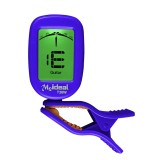 Guitar Tuner Clip on-Accurate Chromatic, Acoustic Guitar Bass Banjo Violin Ukulele Tuner (Blue)