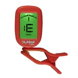 Guitar Tuner Clip on-Accurate Chromatic, Acoustic Guitar Bass Banjo Violin Ukulele Tuner (Red)