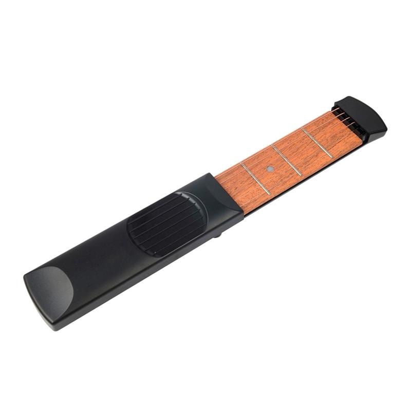 Mini Pocket Guitar Portable Guitar Trainer Finger Chord ...