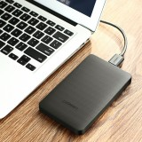UGREEN CM135 HDD Enclosure 2.5 inch SATA to USB 3.0 SSD Adapter Hard Disk Drive Box External HDD Case, Support UASP Protocol