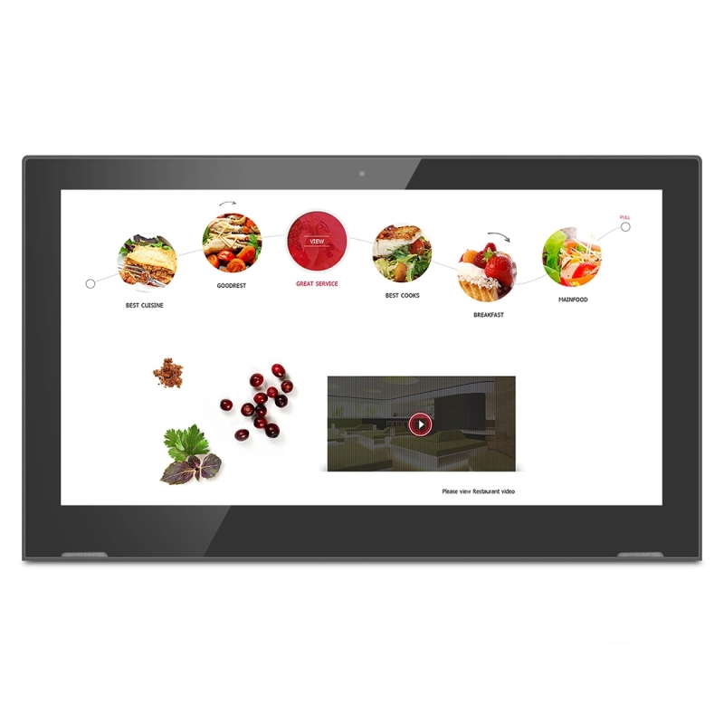 15.6 inch IPS Display Digital Photo Frame, RK3368 Octa-core Cortex A53 up  to 1.5GHz, Android 6.0, 1GB+8GB, Support WiFi & Ethernet & Bluetooth & HDMI  ...