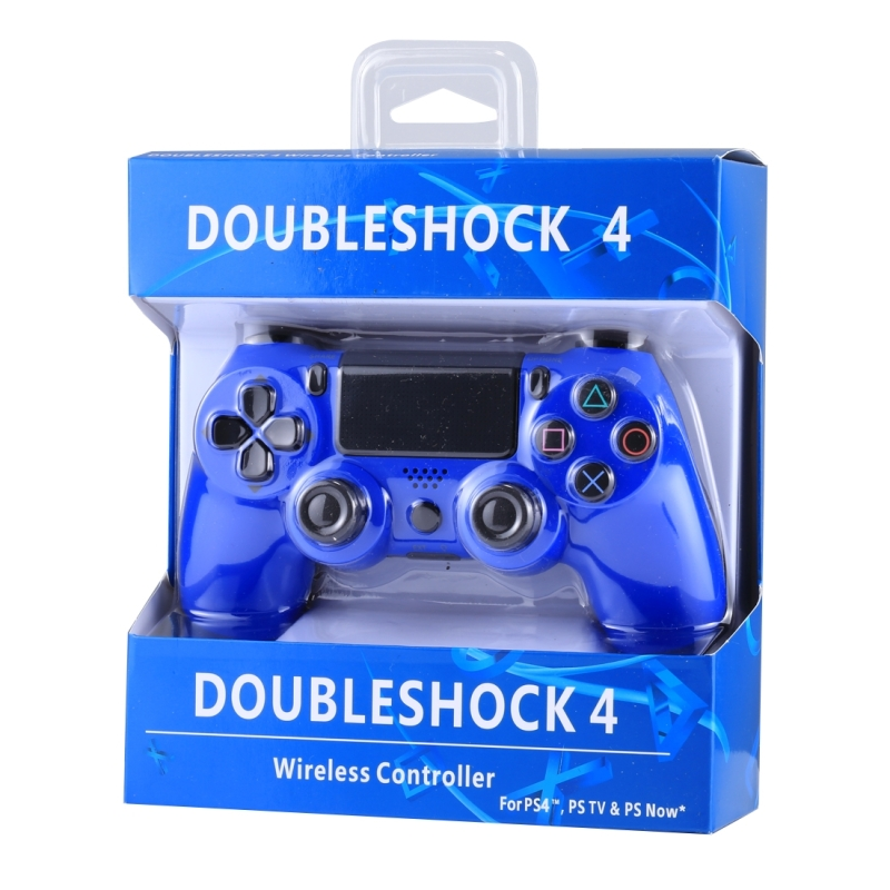 Doubleshock 4 Wireless Game Controller for Sony PS4 (Blue)