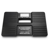 AW-815 Multipurpose Portable Personal Digital Electronic Weight Scale (300g-150kg), Excluding Batteries (Black)