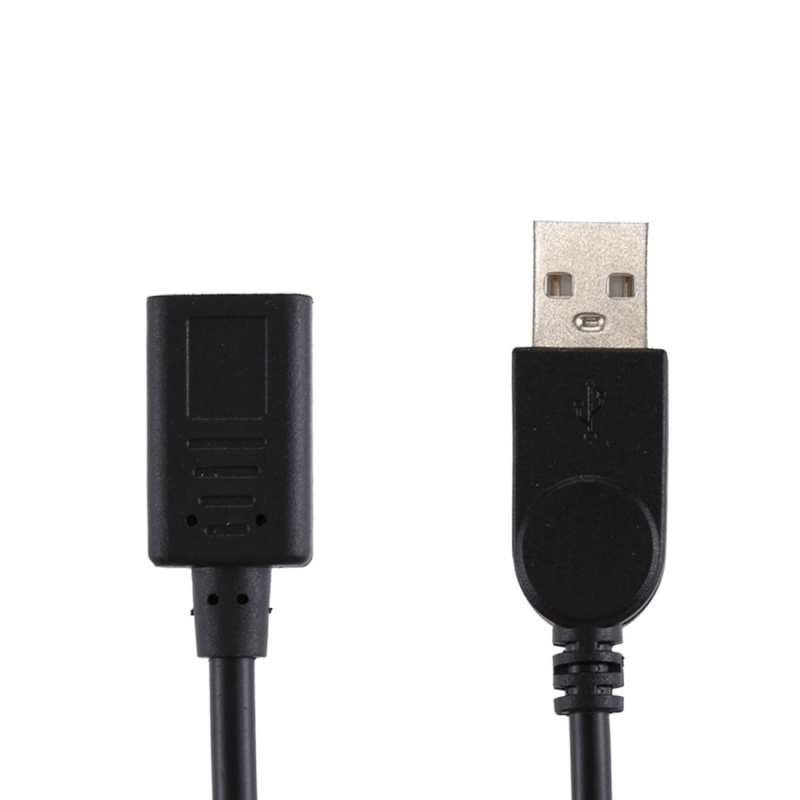 USB-C / Type-C Female to USB 2.0 Male Adapter Cable, Total Length: 33cm, For Galaxy S9 & S9+ & S8 & S8 + / LG G6 / Huawei P10 & P10 Plus / Xiaomi Mi 6 & Max 2 and other Smartphones