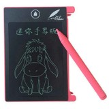 CHUYI 4.4 inch LCD Writing Tablet Portable Electronic Writing Drawing Board Doodle Pads with Stylus for Home School Office (Pink)
