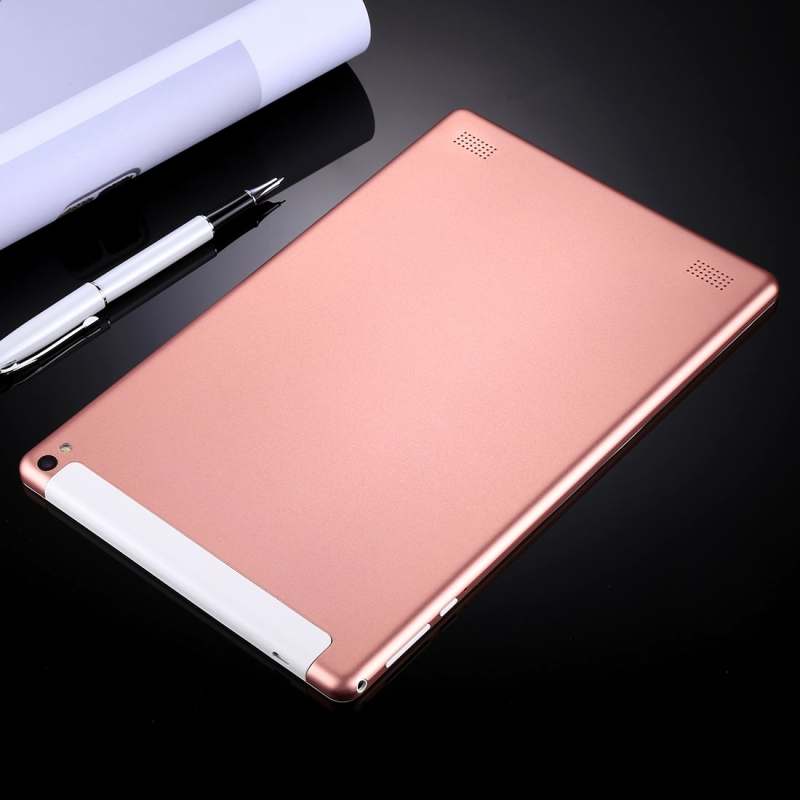 3G Phone Call Tablet PC, 10.1 inch, 1GB+16GB, Android 4.4 MTK6582 Quad Core 1.3GHz, Dual SIM, Support GPS, OTG, WiFi, Bluetooth (Rose Gold)